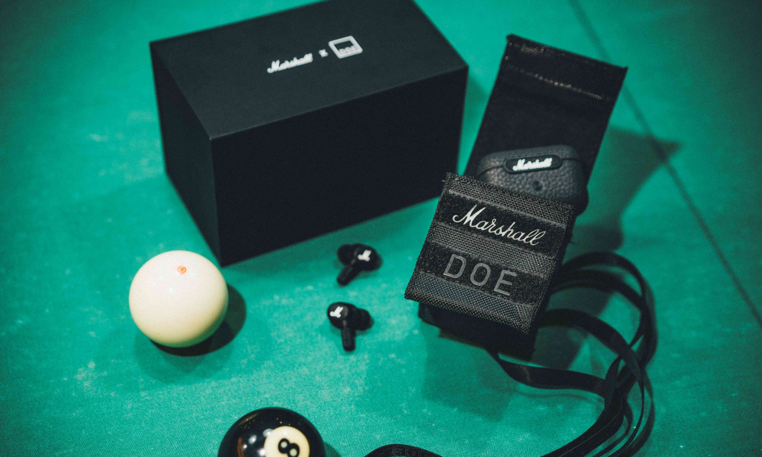 Marshall 新品真无线耳机 Motif A.N.C. 现身 DOE 联名惊喜派对
