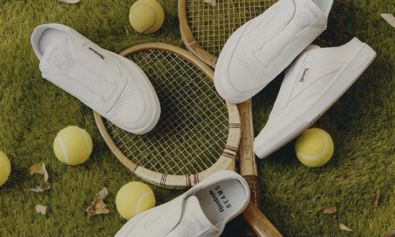 BEAMS x Reebok Club C Laceless Mule 联名鞋款发布