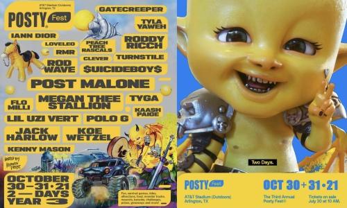 POSTY Fest 2021 阵容公布