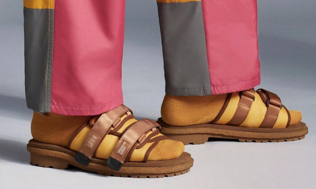 SUICOKE x MONCLER 联名鞋款正式发布