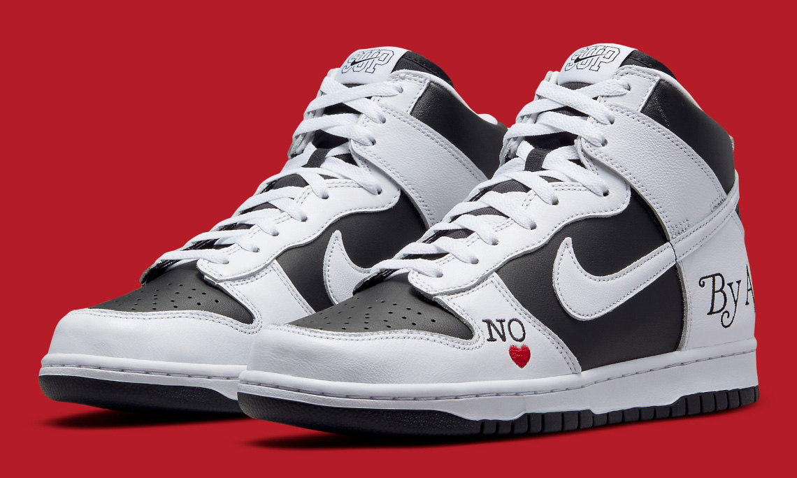 Supreme x Nike SB Dunk High「By Any Means」官方图释出