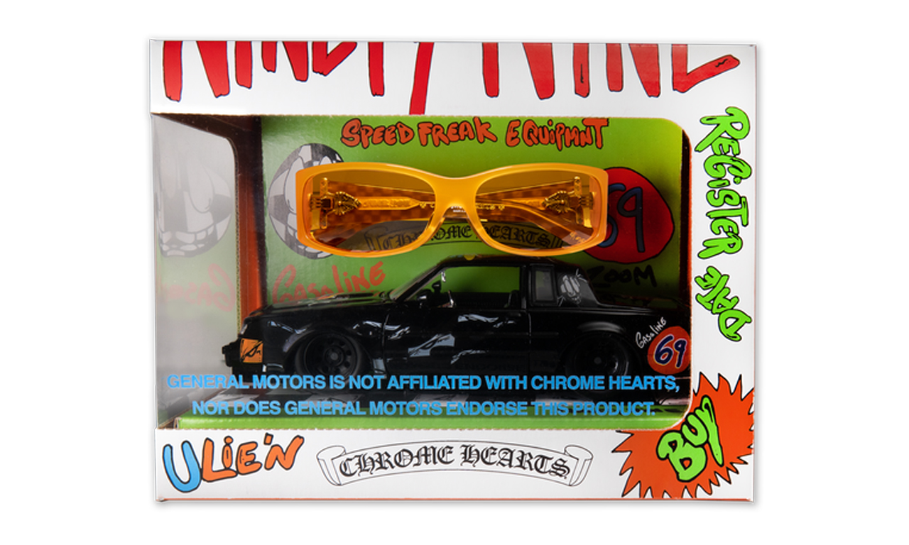 Chrome Hearts 推出价值 1,500 美元的墨镜与玩具车套装