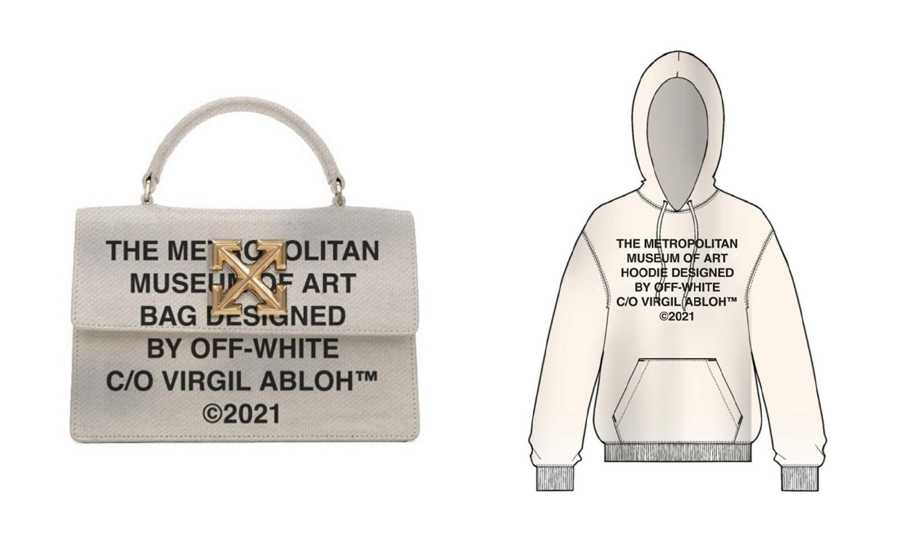 The Met x VOGUE x Off White™ 全新联名系列即将发售