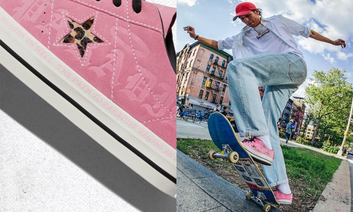 CONVERSE 携滑板手 Sean Pablo 推出全新联名