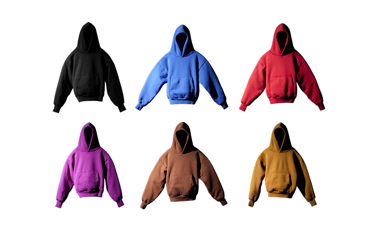 6 种配色,YEEZY GAP 卫衣正式开启预售