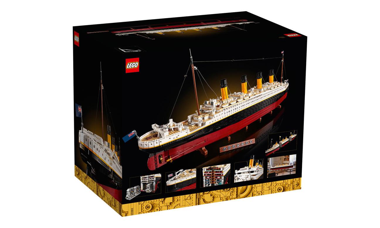 史诗级收藏准备,LEGO 10294 泰坦尼克号盒组释出