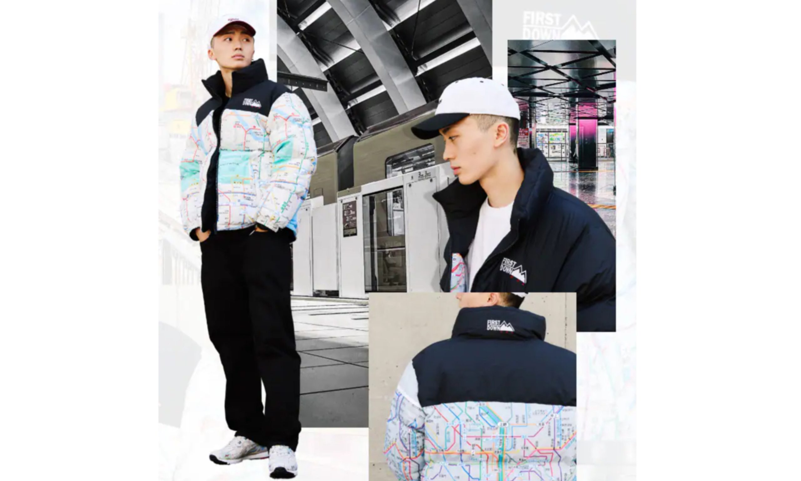 FIRST DOWN x atmos 「SUBWAY PACK」羽绒服发布
