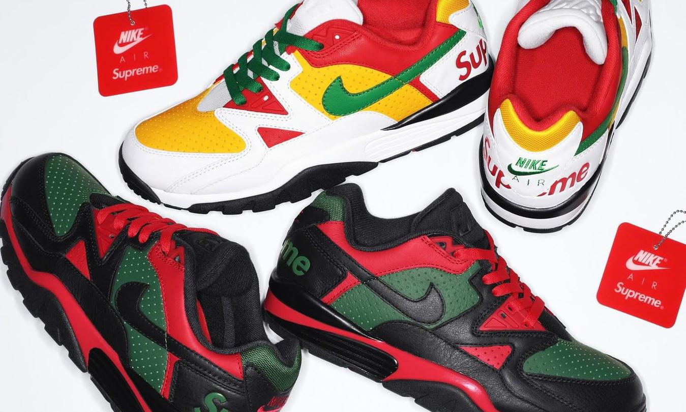 Supreme x Nike Cross Trainer Low 双配色即将发售