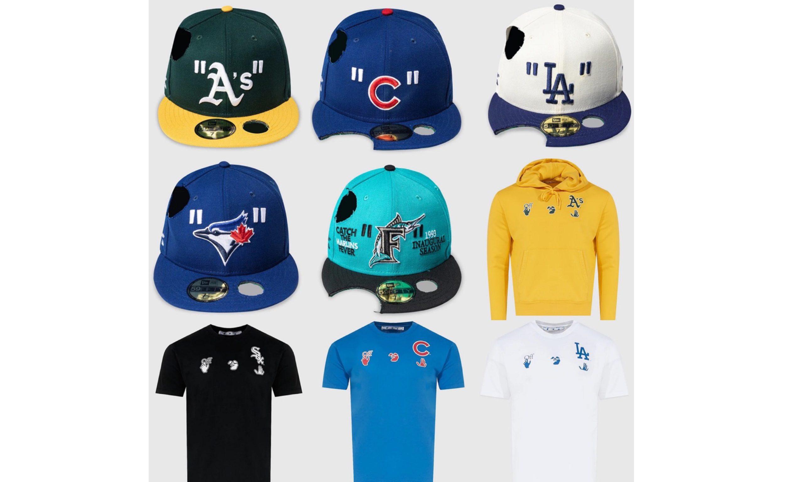 Off-White™ x New Era x MLB 合作系列发售