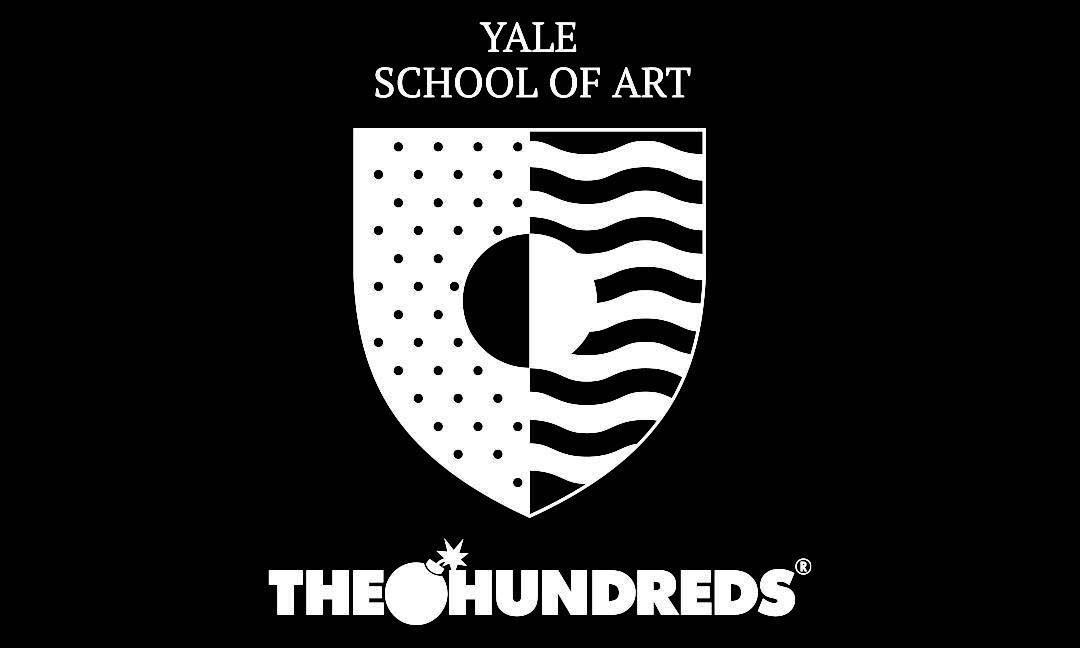 The Hundreds x Yale School of Art 合作托特包,所得收益支持艺术教育