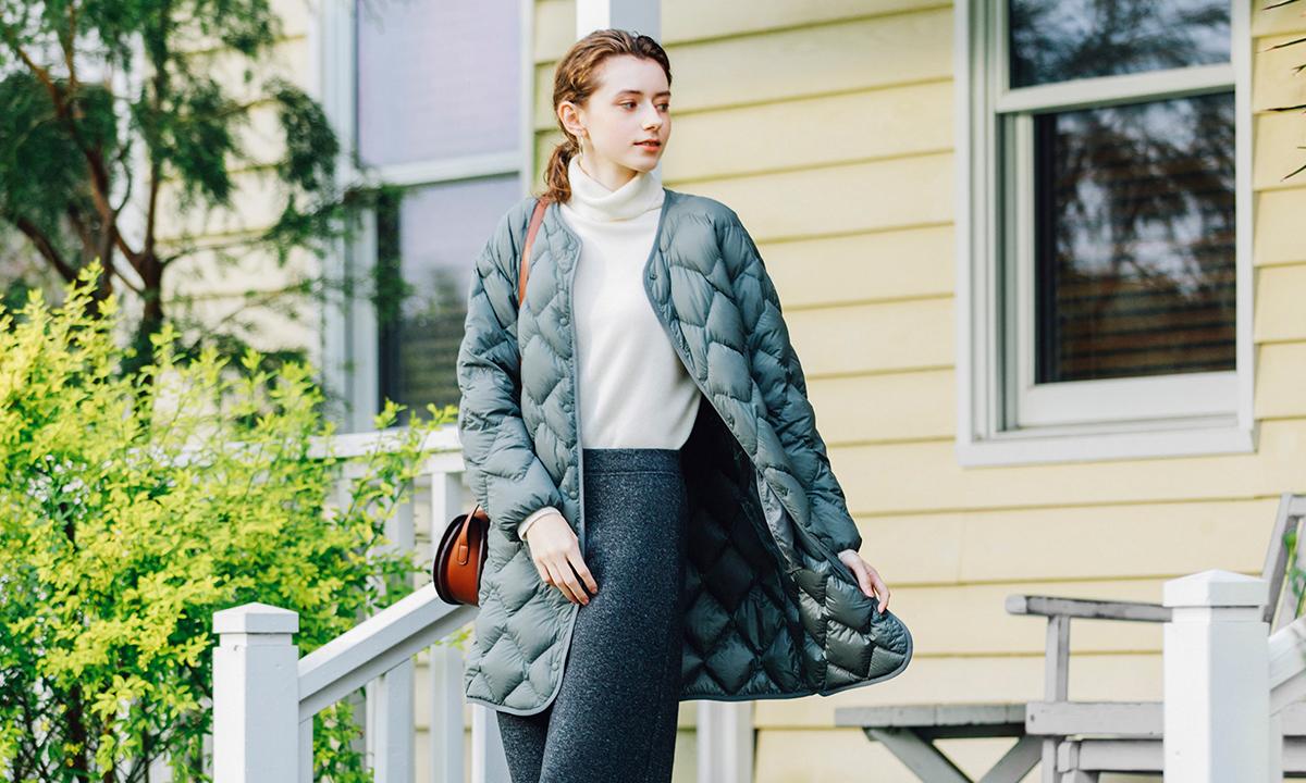 畅享自由暖冬,UNIQLO「轻」变万化高级轻羽绒系列释出