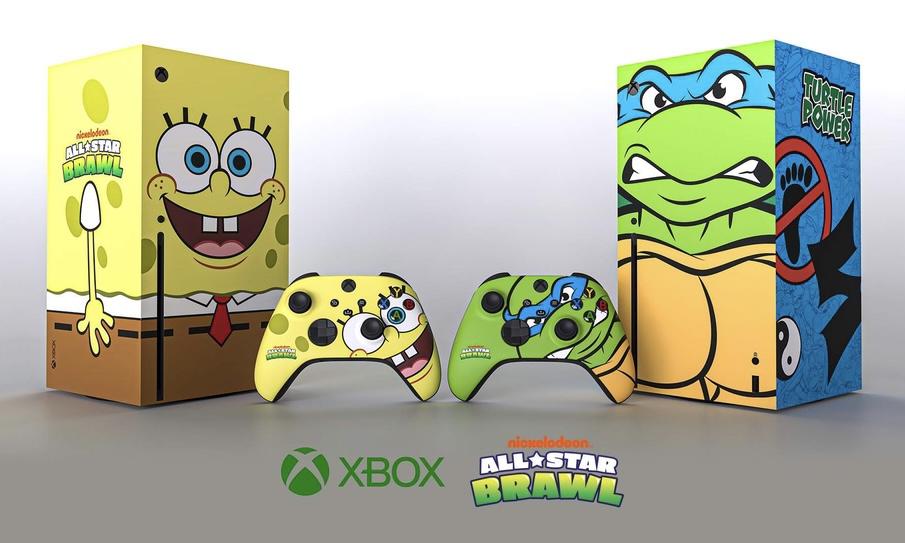 微软推出海绵宝宝与忍者神龟特别版 Xbox Series X