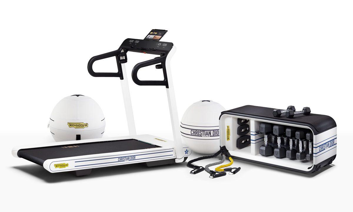 DIOR 携手 Technogym 推出限量版健身器材