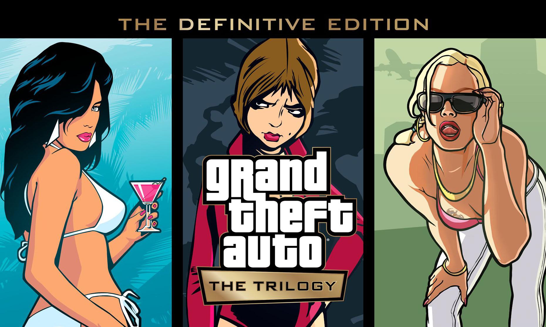 Rockstar 正式宣布推出 GTA 三部曲经典重制