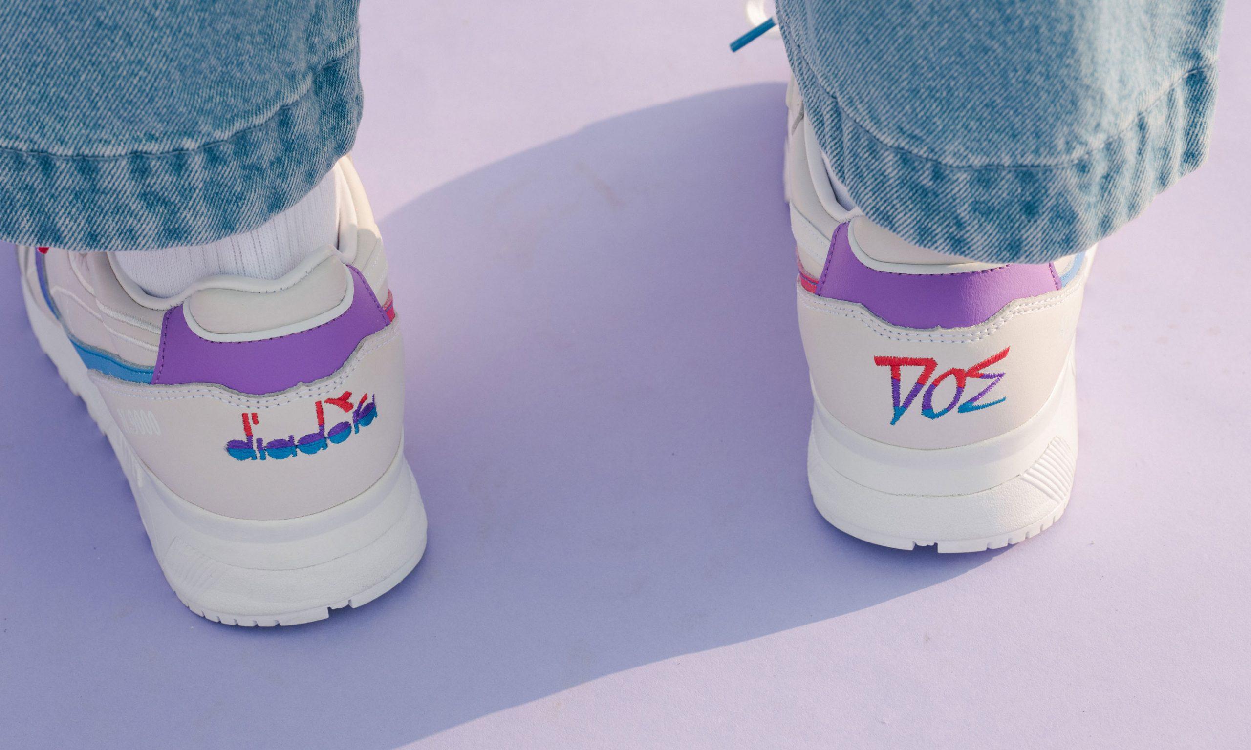 DOE 携手 diadora 联合呈现意产手制 N9000 鞋款