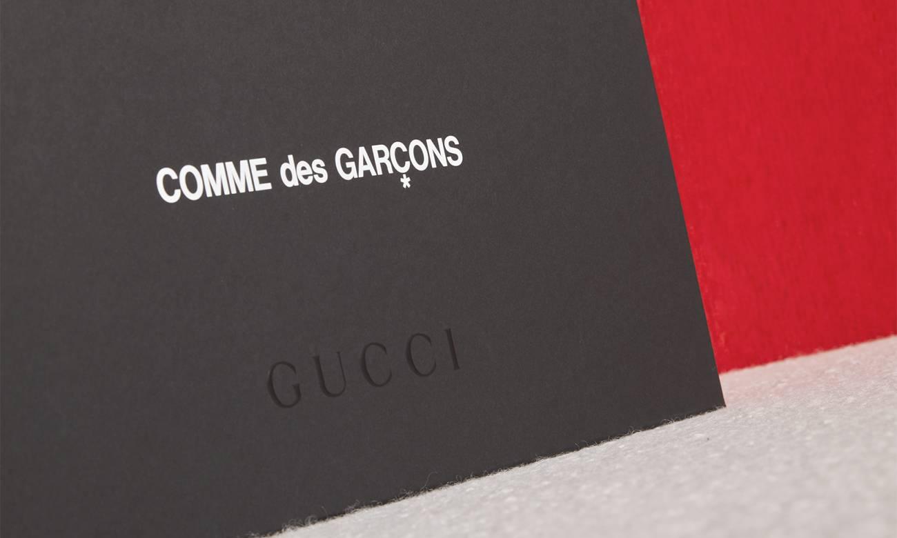 GUCCI x COMME des GARÇONS 联名预告释出