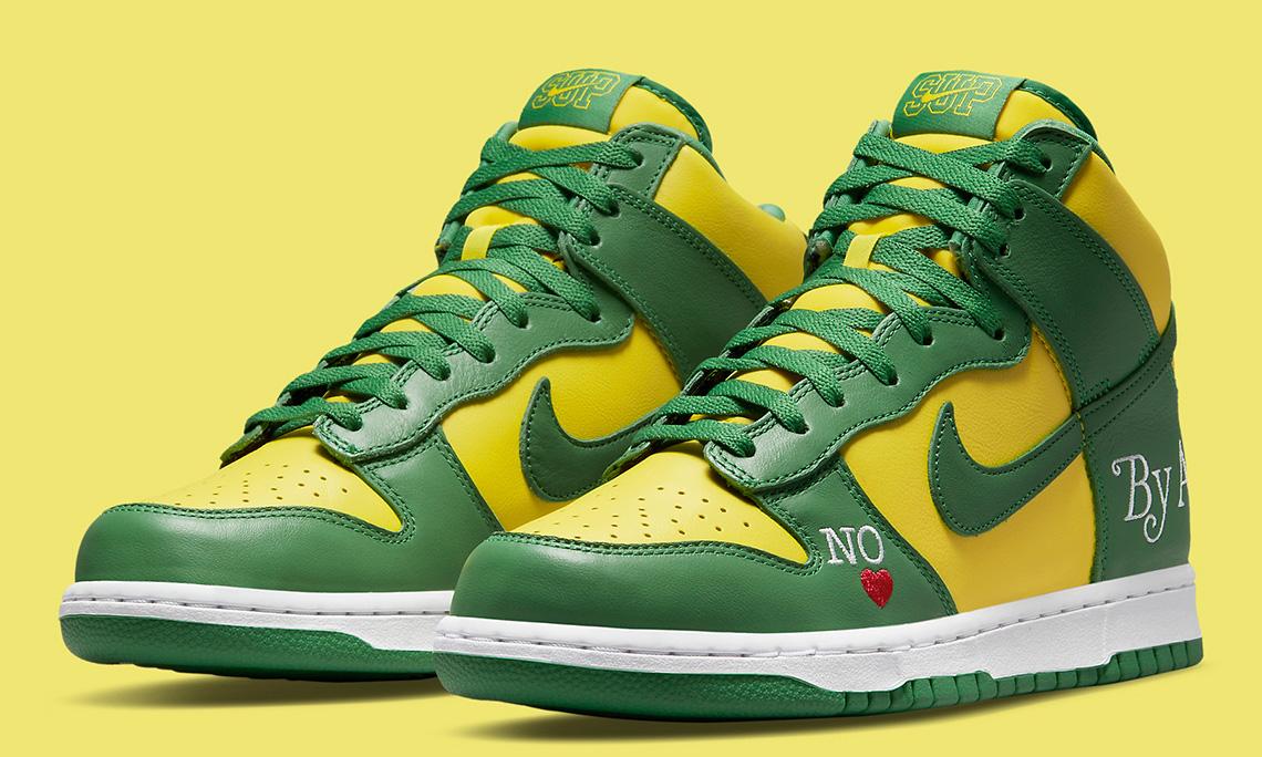 Supreme x Nike SB Dunk High「By Any Means」新配色释出