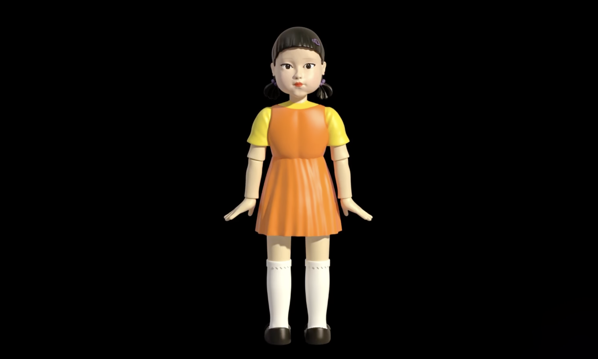 全球首个官方认证的《鱿鱼游戏》玩偶即将发售