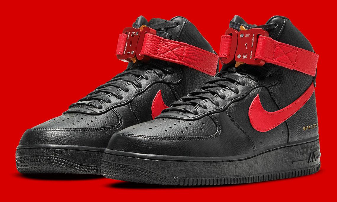 1017 ALYX 9SM x Nike Air Force 1 新配色释出