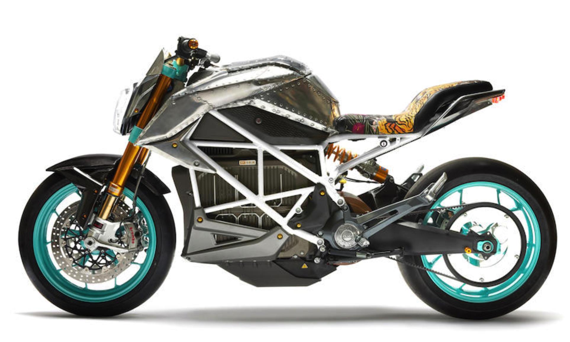 由 Tinker Hatfield 联合设计的定制款摩托车即将拍卖