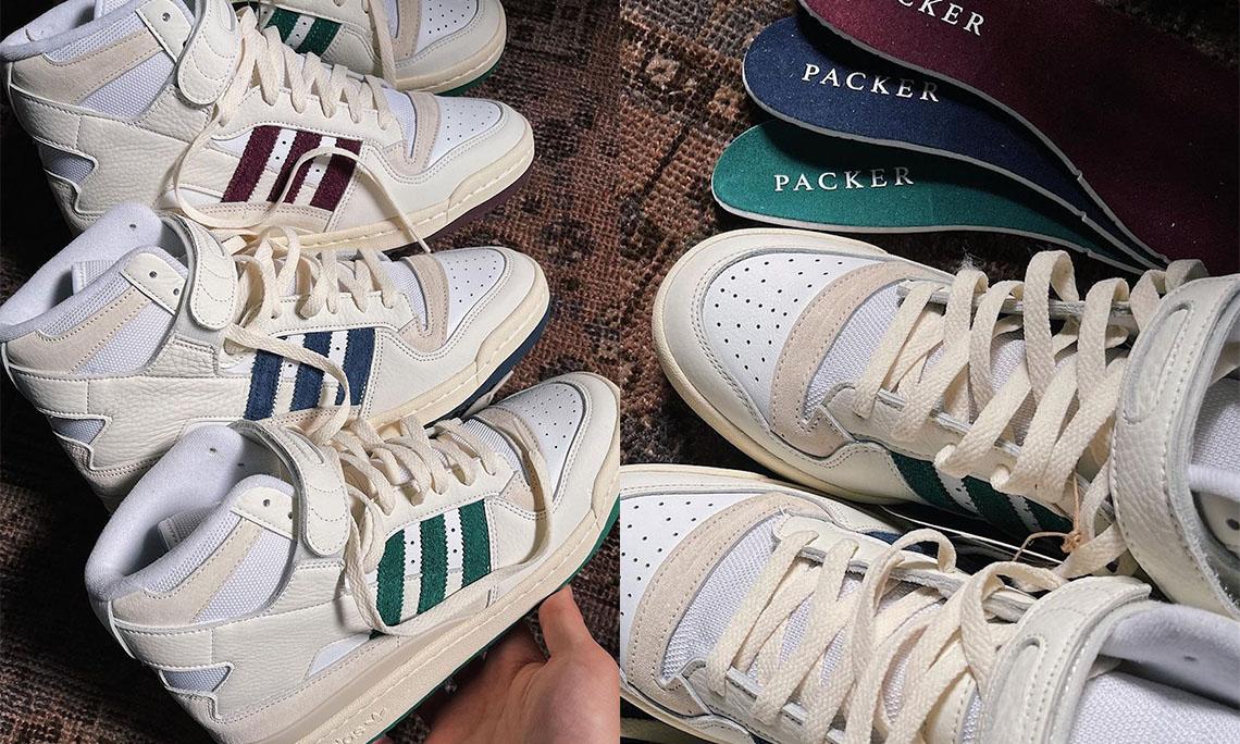Packer 再度携手 adidas 推出三款 Forum Hi