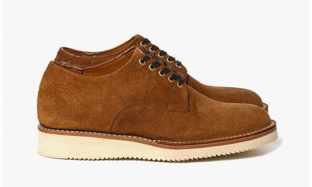Haven x Viberg Roughout Leather Derby 低帮工作靴