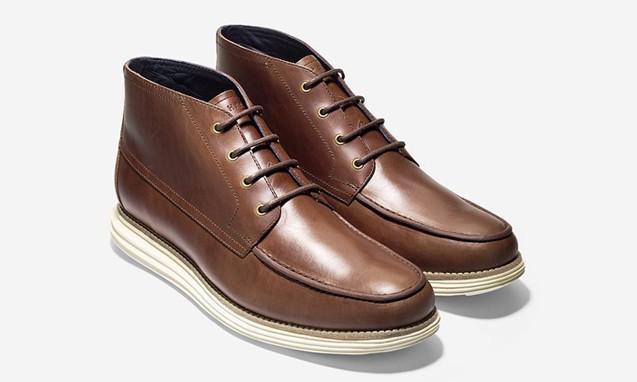 COLE HAAN LUNARGRAND MOC CHUKKA 新鞋款登场