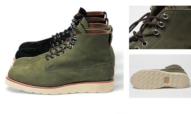 WTAPS 改良军靴 PLAINTOE BOOTS