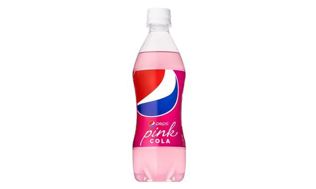 日本限量发售草莓牛奶味粉色百事可乐