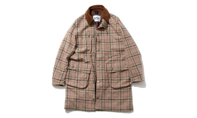 Barbour x White Mountaineering 联名合作发布