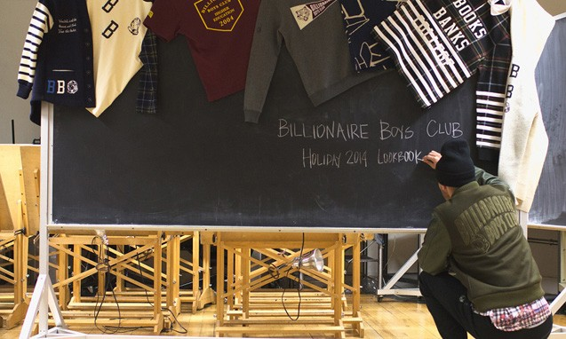 "Billionaire Boys Club 2014 假日系列 ""Books Banks College"" 主题 Lookbook"