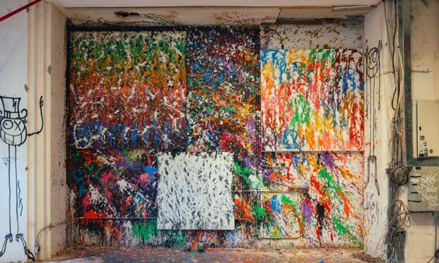 外滩18号十周年庆,《看穿!》街头涂鸦艺术展精彩放送