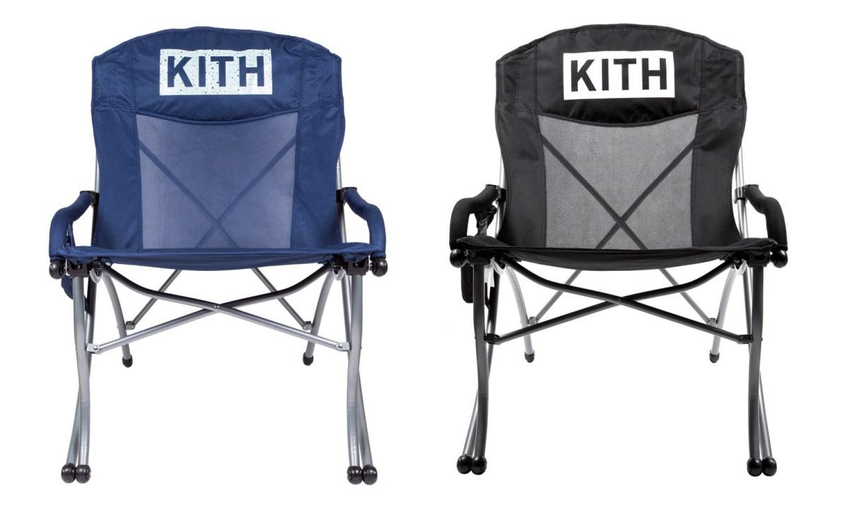 KITH 开售全新 CAMP CHAIR 户外休息凳