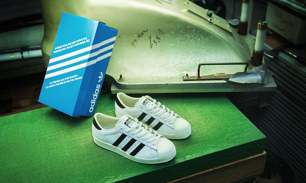"adidas Consortium Superstar""Made in France""制作过程展示短片"