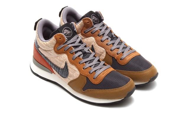 Nike Internationalist Mid QS 木纹元素系列