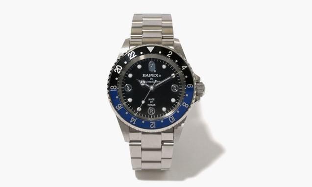 A BATHING APE 推出 双色表圈 BAPEX TYPE 2 腕表