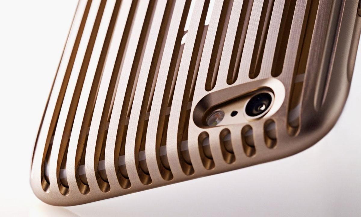 昂贵的质感美,SQUAIR 铝制 iPhone 6 手机壳