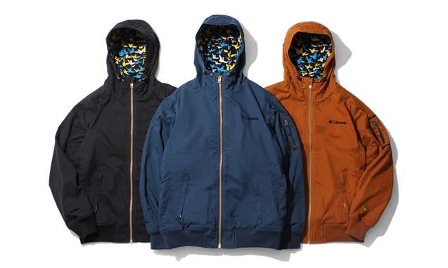 隐藏的涂鸦,Kinetics x Columbia x Mark Gonzales Loma Vista Hoodie Jacket