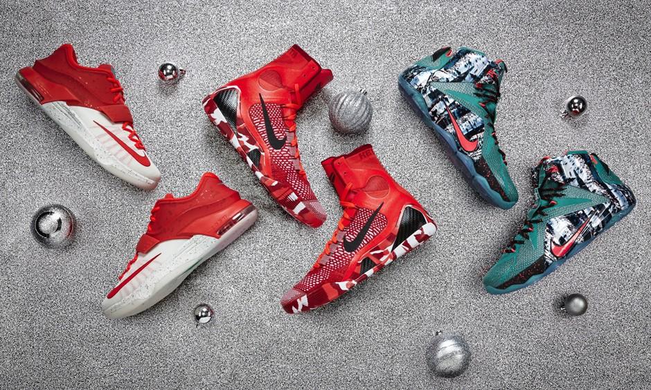 大战一触即发,2014 圣诞系列篮球鞋即将上阵