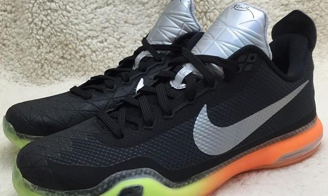 黑曼巴新作?疑似 Nike Flyknit Air Max 配色 Kobe 10 曝光