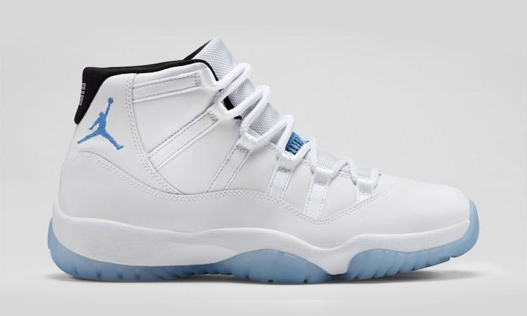 "Nike 通过 Air Jordan XI ""Legend Blue"" 获利 8000 万美元"