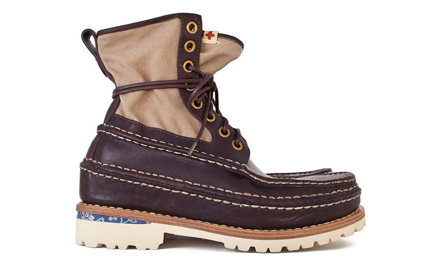 visvim 2014 假日系列 GRIZZLY BOOTS-FOLK 鞋款