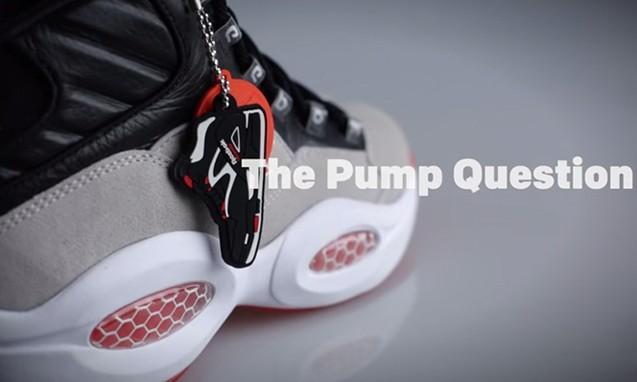 两大经典的结合,Reebok Pump Question 全新鞋款宣传视频