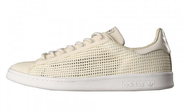 adidas Originals 全新编织设计 Stan Smith 鞋款