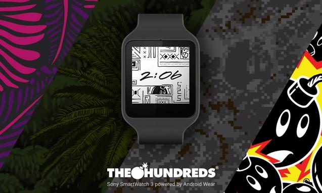 THE HUNDREDS 定制 Android 智能腕表主题开放下载