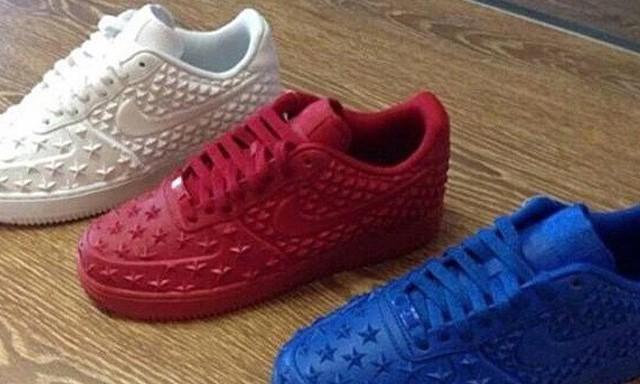 """疑似 Nike """"Independence Day"""" 系列 Air Force 1 谍照释出"""