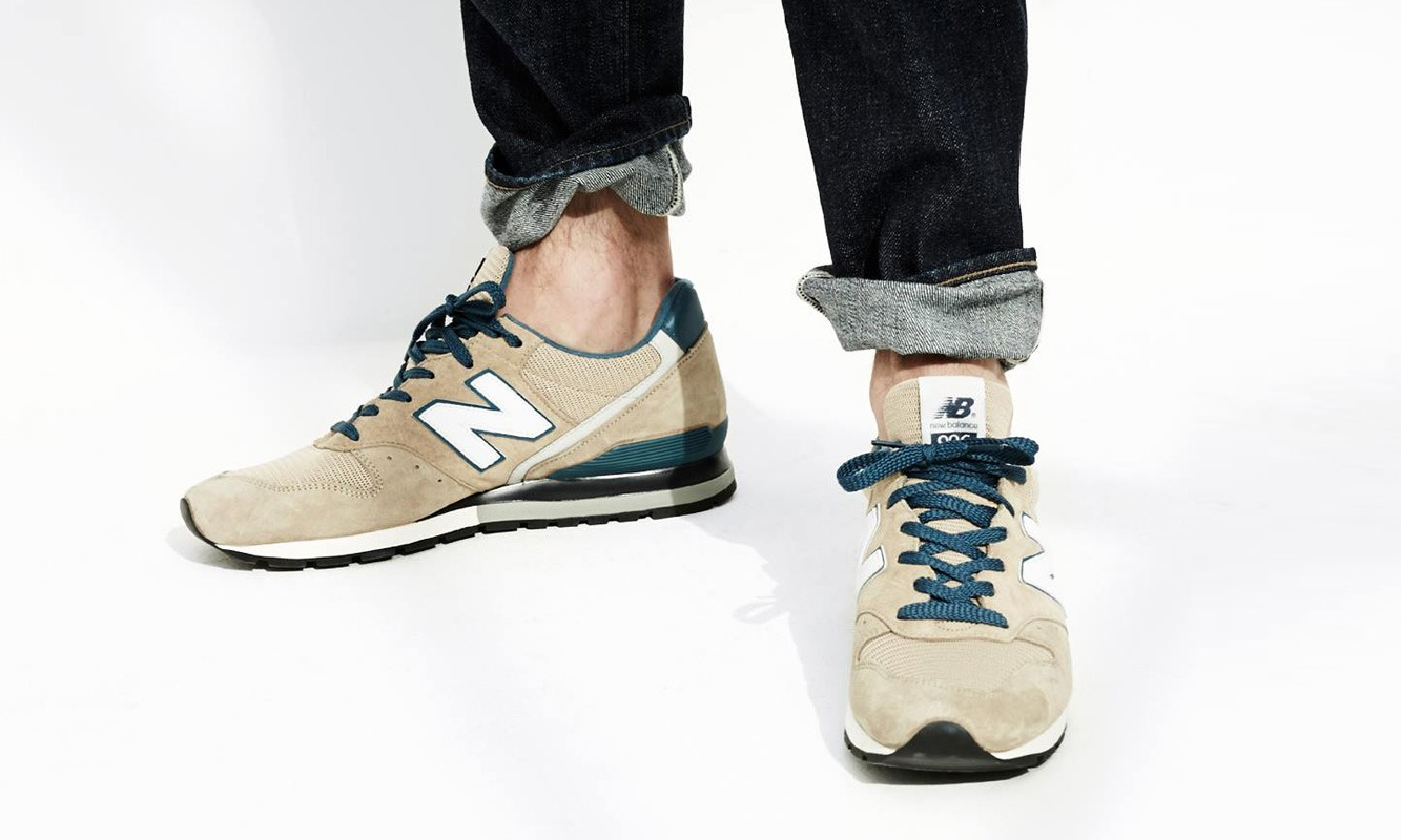 J.Crew x New Balance 联名 996 系列鞋款释出