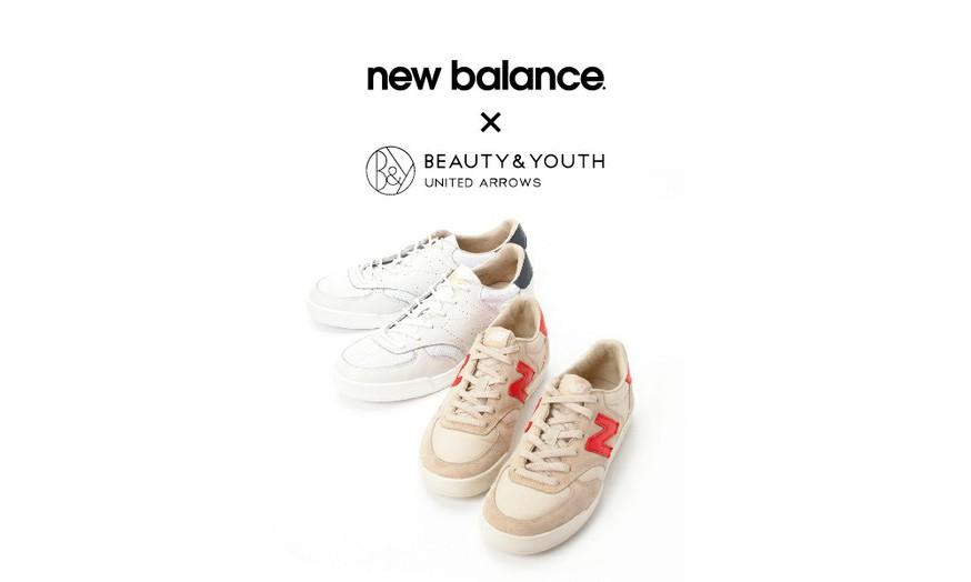 简约复古新味,BEAUTY&YOUTH x New Balance CRT300 别注系列发布