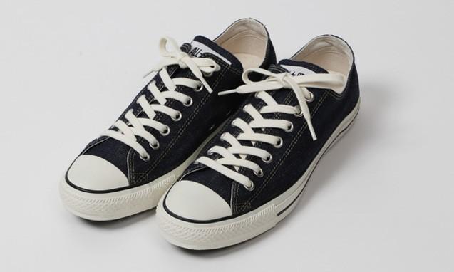Levi's x BEAMS x CONVERSE ALL STAR 赤耳丹宁布鞋款
