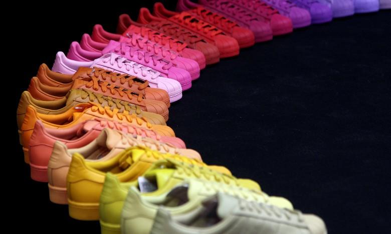 Pharrell Williams x adidas Originals 全新「Supercolor」联名系列预览